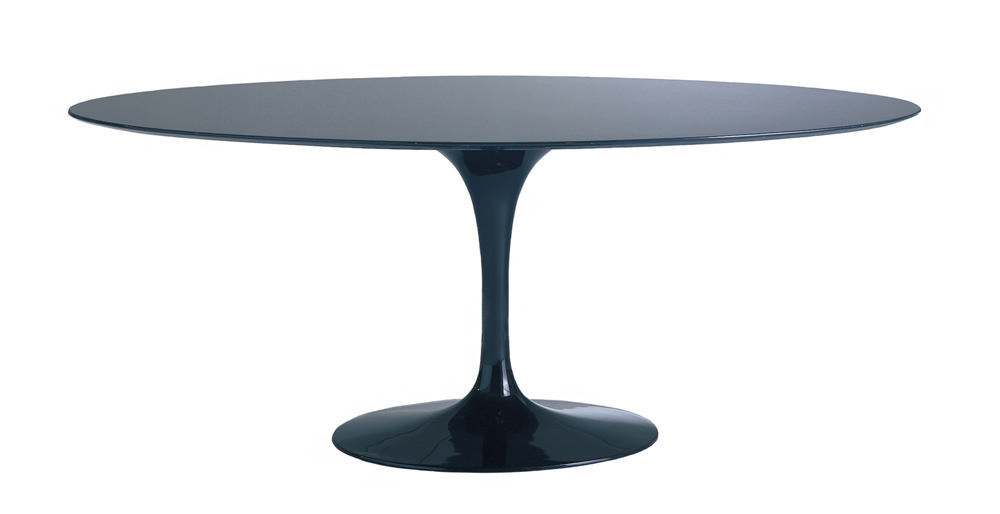 Malik Gallery Collection Eero Saarinen Oval Tulip Dining