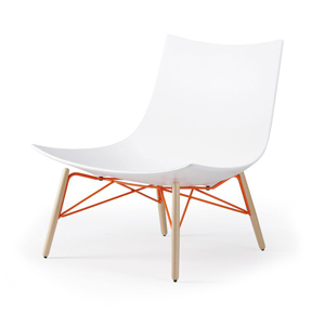 Lounge Chair - Wood Base
